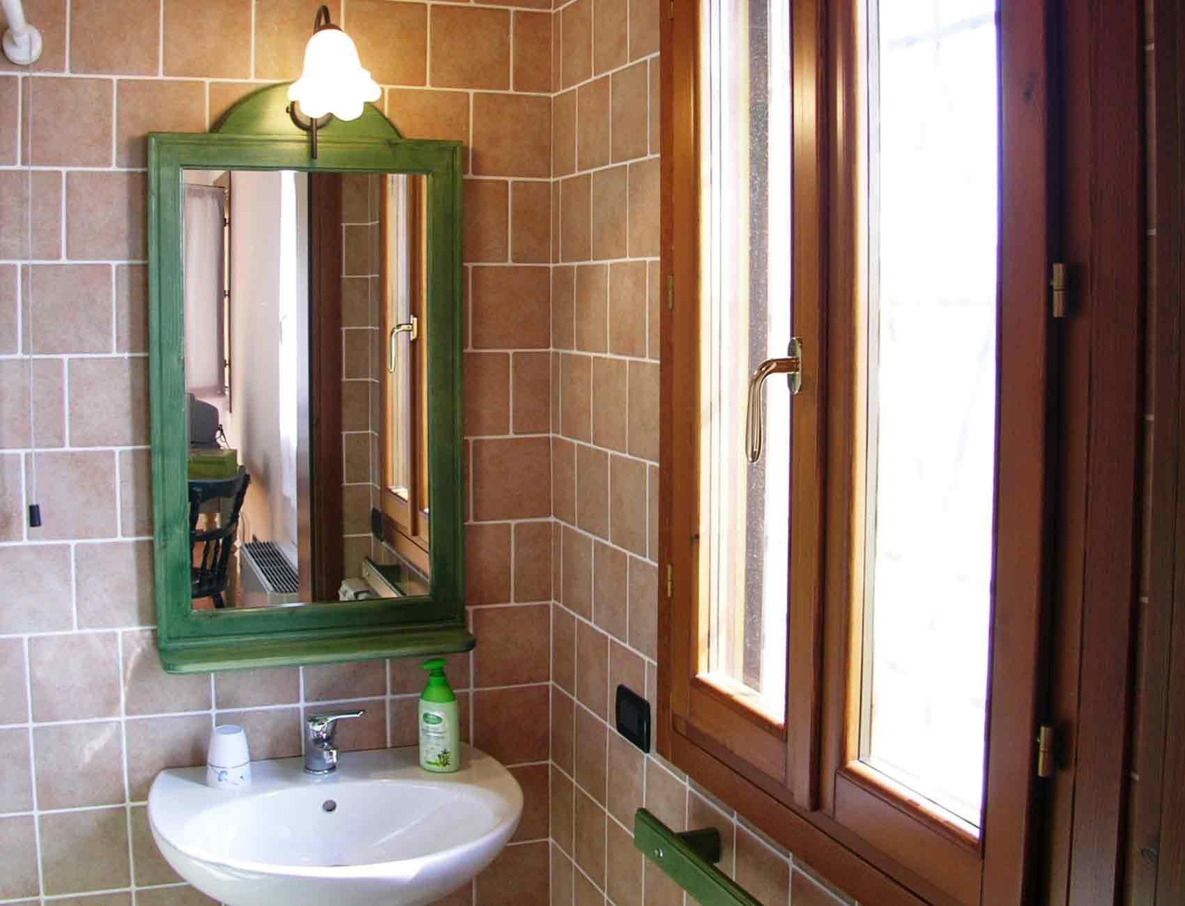 Agriturismo Zennare - Camera tripla, il bagno