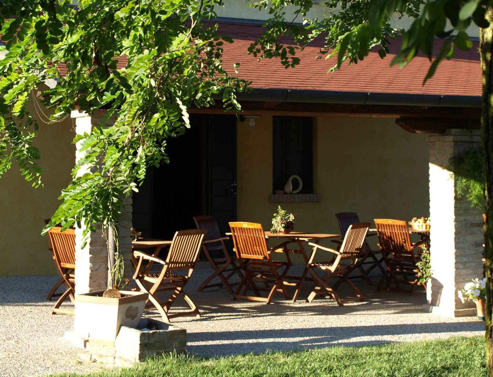 Agriturismo Zennare - Camera tripla - Il patio