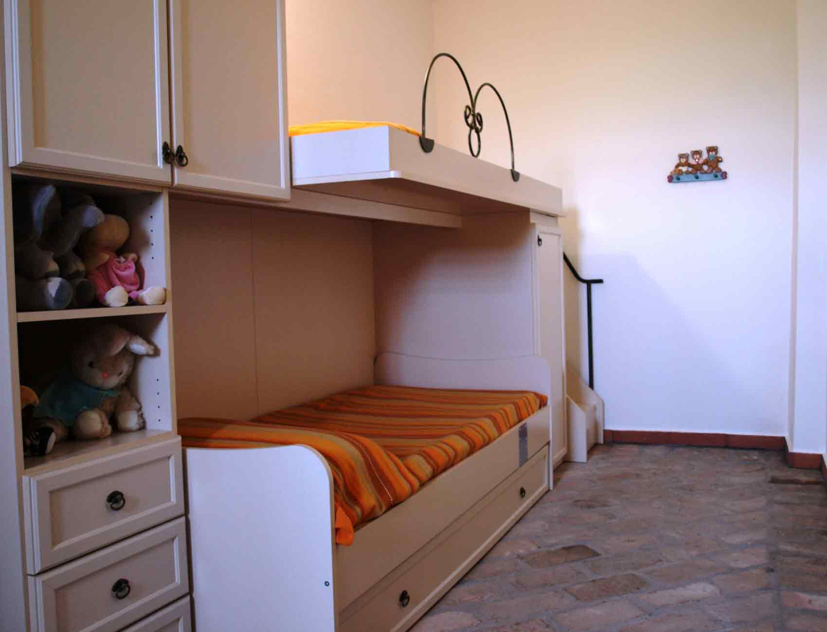 Agriturismo Zennare - La Barchessa B - Camera con letto a castello