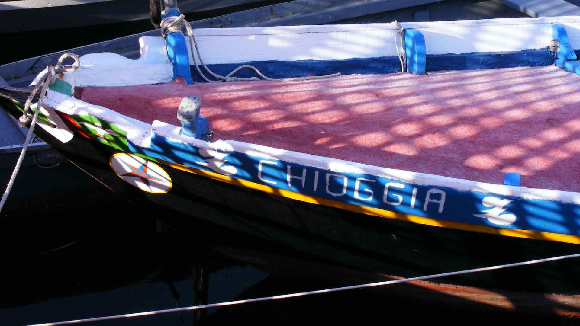 Chioggia - La verigola, tipica imbarcazione chioggiotta