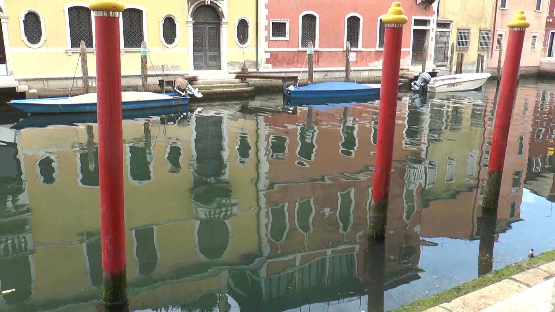 Chioggia - Riflessi d'acqua sul Canal Vena