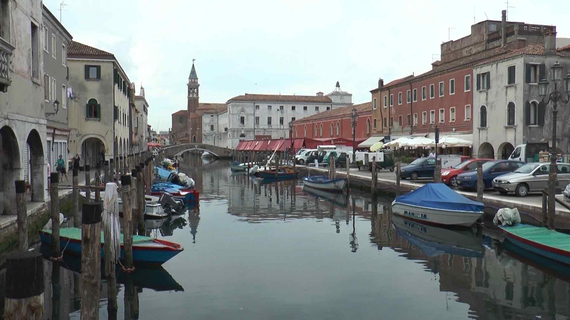 Chioggia - Canal Vena, il mercato ittico