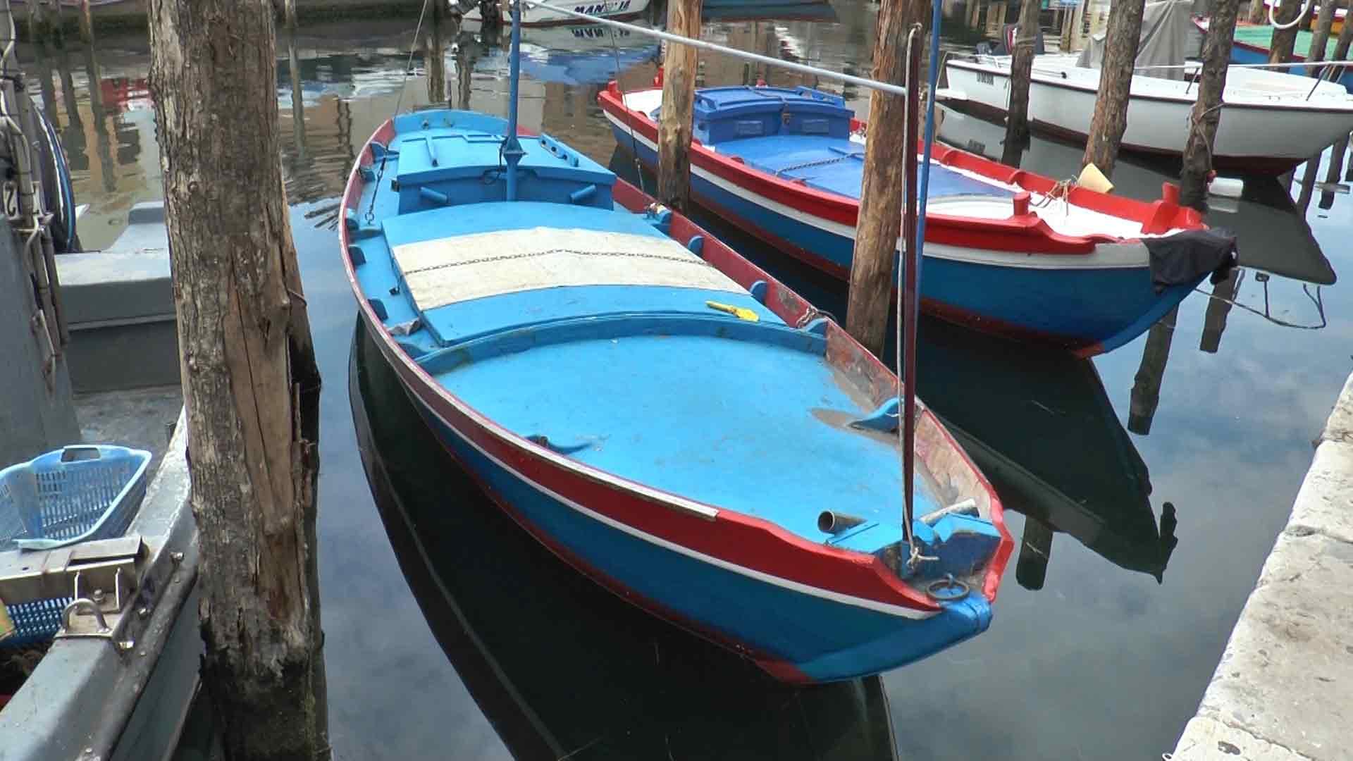 Chioggia - Verigola, tipica imbarcazione chioggiotta