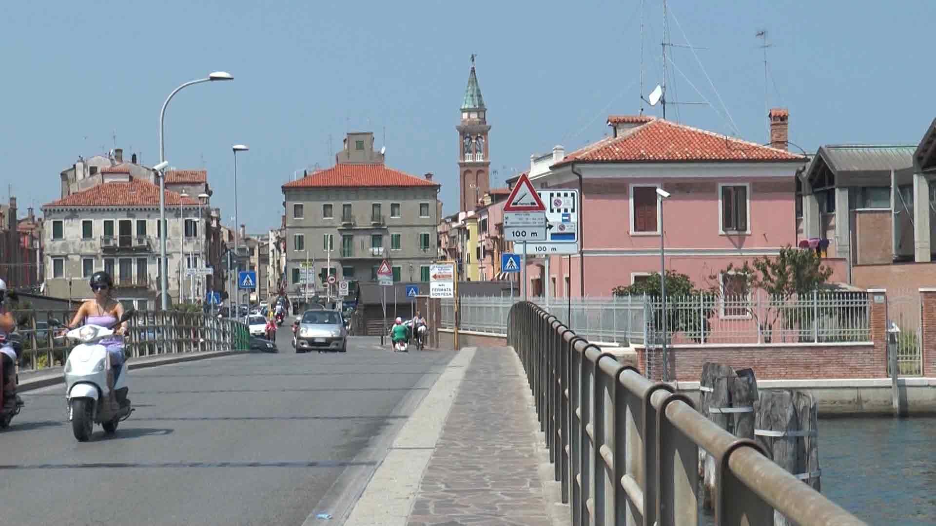 Chioggia - Il ponte dell'unione