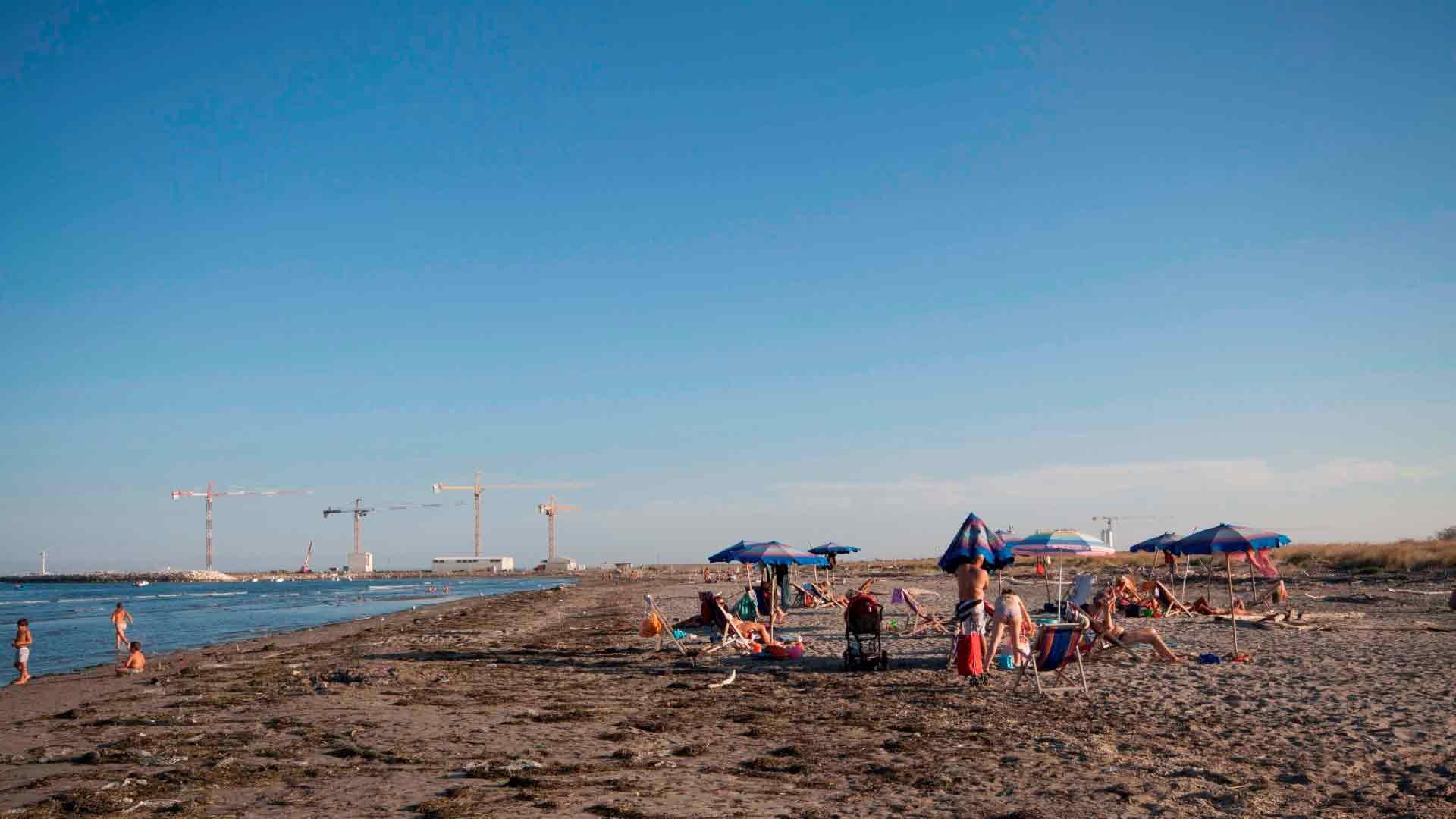 Pellestrina - Ca' Roman La spiaggia