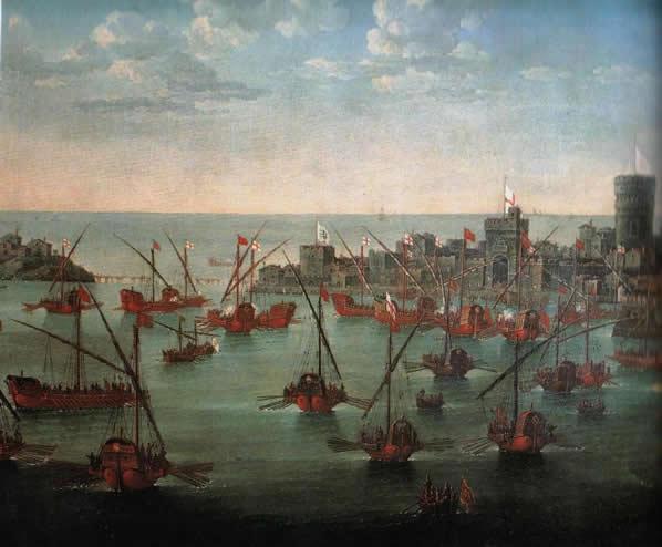 La battaglia di Chioggia, J. Grevembroch