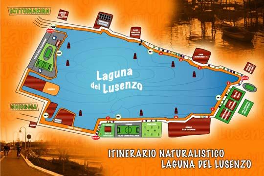 Itinerario naturalistico nella laguna del Lusenzao